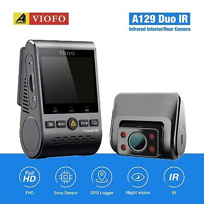 AU249 • Buy Viofo A129 DUO IR Dual Lens Dash Camera 1080P +GPS +WIFI 5Ghz+Sandisk 32GB Card