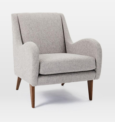 John Lewis & Partners Sebastian Chair, Deco Weave Feather Grey - RRP: £399 • 299£
