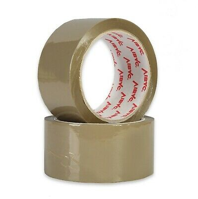£12.44 • Buy NEW VIBAC X-Strong BROWN PACKING PARCEL TAPE 48mm X 66M