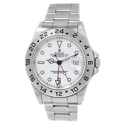 $ CDN9520.39 • Buy Rolex Explorer II Stainless Steel Oyster Automatic White Men's Watch 16570
