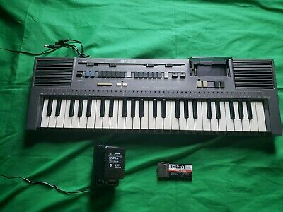 $98 • Buy Vintage 70's 80's Casio Casiotone MT-820 Keyboard Piano W/ Family Songs Rom Pack