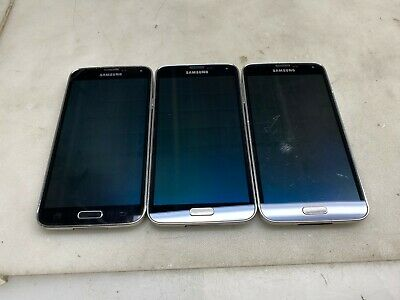 $ CDN135.32 • Buy Lot Of (3) Samsung Galaxy S5 16GB (AT&T Locked) *Read