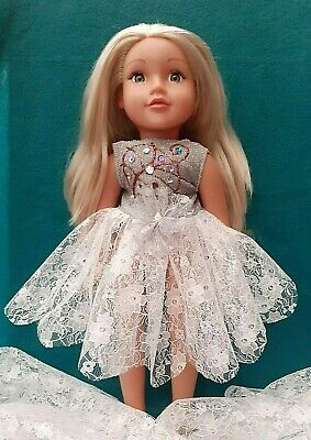 American Girl Our Generation Sparkle 3 Tier Ballet Tutu 18 Inch Doll Clothes • 6.99£