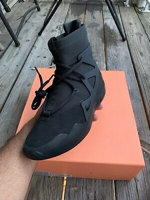 $470 • Buy Nike Air Fear Of God 1 Triple Black (100% Authentic) - Size 7.5