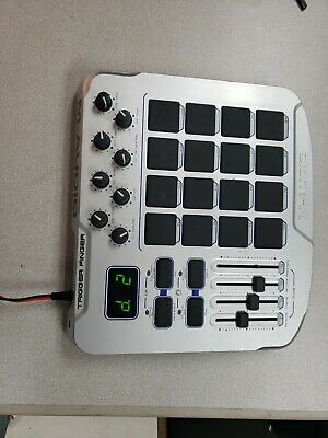 $85 • Buy M-Audio Trigger Finger MIDI Controller With Pads