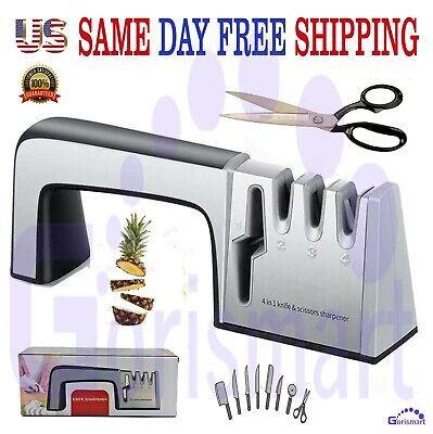 $12.95 • Buy  Knife Sharpener PROFESSIONAL Heavy Duty Ceramic Tungsten Kitchen System Tool.