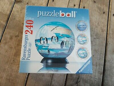 $27.99 • Buy Ravensburger Penguins 6 Inch Globe Puzzleball 11-055-1 New Sealed 240 Pieces