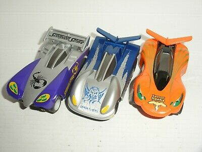 12V MICRO Scalextric X3 Cars  - Bug Racers (Lot 5) - Vgc • 11.99£