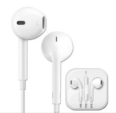 AU7.13 • Buy 3.5mm Earphones With Mic Apple Iphone Ipad Ipod Jack Wired Ios Mac Android