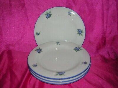Royal Doulton Blueberry 4 X Tea Side Plates 6 And 3/8  • 24.99£