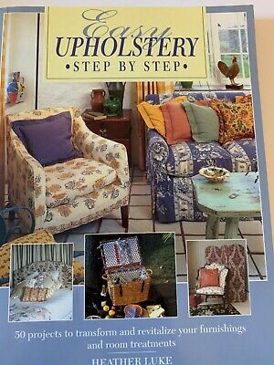 Easy Upholstery By Luke, Heather Book The Fast Free Shipping • 7.08£