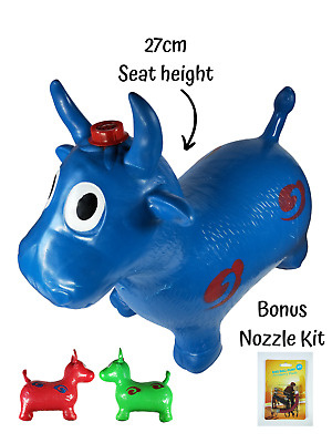 AU29.95 • Buy Cow Hopper Jumping Animal Bounce Fun Kids Ride Childrens Inflatable Bouncy Toy