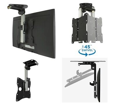 AU66.45 • Buy TRA LED/LCD 17-37  TV RV Caravan Ceiling Mount Bracket - Tilt & Swivel