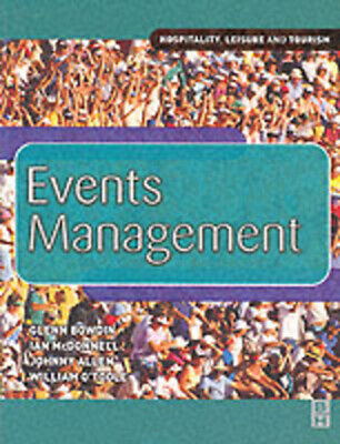 £3.20 • Buy Events Management By G. A. J Bowdin (Paperback) Expertly Refurbished Product