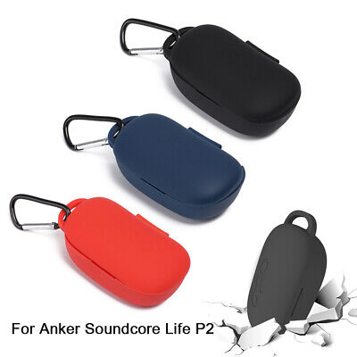 AU11.66 • Buy Anti-fall Case Protective Shell Soft Silicone Cover For Anker Soundcore Life P2