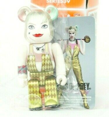 $64.99 • Buy Medicom Bearbrick Be@rbrick 100% S39 Horror Harley Quinn Birds Of Prey Secret