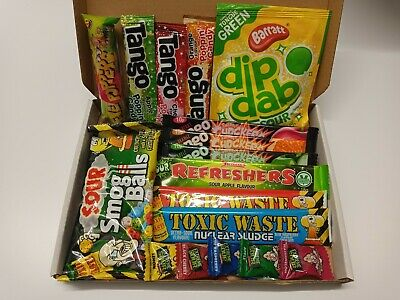 £9.20 • Buy Toxic Waste Warheads Tango Sour Gift Box American Sweets Popping Candy Skittles