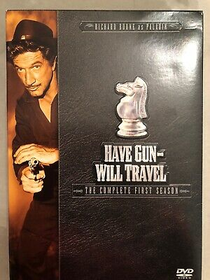 $6 • Buy Have Gun Will Travel - The Complete First Season (DVD, 2004, 6-Disc Set)