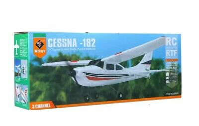 AIRPLANE CESSNA-182 2.4G 3CH RC RTF Airplane Aircraft Fixed Wing Plane.BRAND NEW • 39.99£