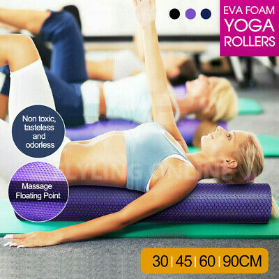 AU30.97 • Buy VIVVA EVA Foam Roller Physio Massage Training Pilates GYM Home Yoga Exercise
