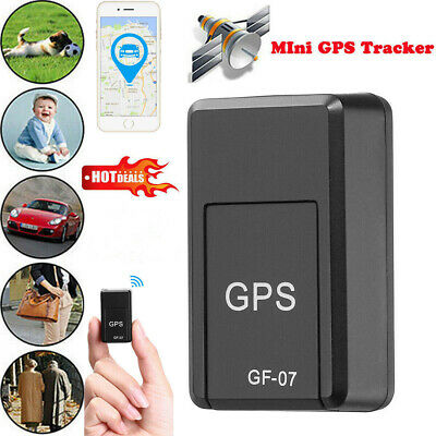 GF07 Magnetic GSM Mini SPY GPS Tracker Real Time Tracking Locator Device For Car • 5.29£
