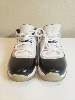 $71 • Buy Nike Air Jordan 11 XI Retro Concord Low Black White-Size 11  528895-153