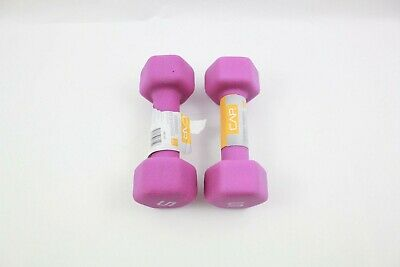 $ CDN40.26 • Buy 5 Lb Dumbbell Neoprene Coated Neon Weights Set Workout