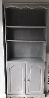 A Lovey Welsh Dresser Painted In Annie Sloan Grey (Would Need Re-painting) • 22.99£
