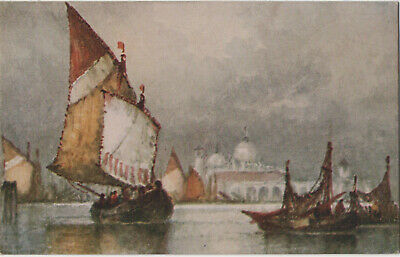 £6 • Buy C. W. Faulkner Picture Of Boats Postcard Series 1587