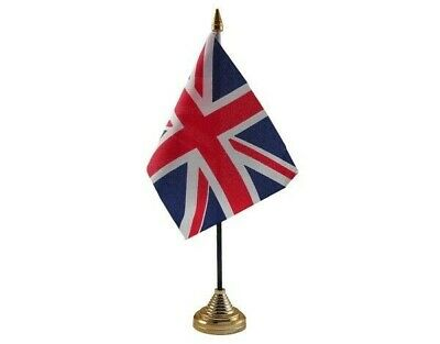 £1.50 • Buy Union Jack British Table Desk Flag - 10 X 15 Cm National Country Hand Europe