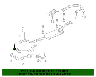 $11.50 • Buy Seal,Exhaust Manifold Pipe GM (15035747