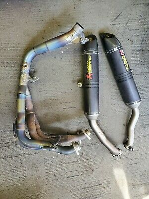$1099.99 • Buy 04-06 Yamaha YZF R1 FULL AKRAPOVIC RACE TITANIUM CARBON EXHAUST SYSTEM