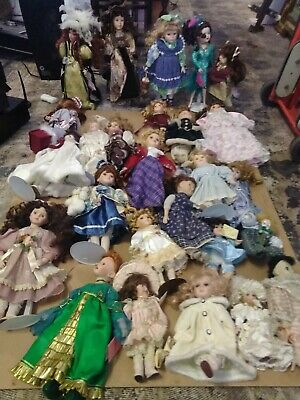 $ CDN228.72 • Buy Porcelain Doll Collection Lot Of 26