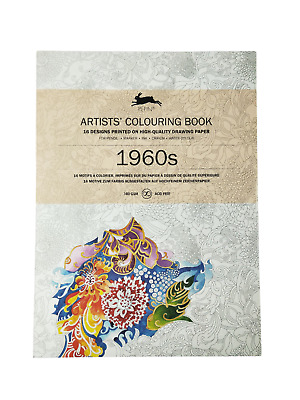 AU15.95 • Buy 1960s - Artist' Colouring Book Peppin Press - New Adult Colour Design