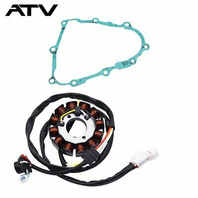 $32.49 • Buy STATOR & GASKET For YAMAHA YFZ450 2004 2005 2007 2008 2009 2012 2013 With Gasket