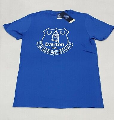 Everton FC Official Football Gift Mens Crest T-Shirt Size S • 8.99£