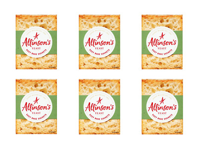 6 X Yeast Sachets By Allinsons   7g Sachets Easy Bake Yeast   Same Day Dispatch  • 2.99£