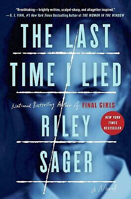 $7.99 • Buy The Last Time I Lied: A Novel By Riley Sager (2018, Digitadown)