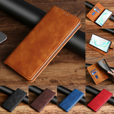 $ CDN8.85 • Buy For Samsung Galaxy Note 10 Plus 9 8 Case Magnetic Flip Wallet Leather Cover