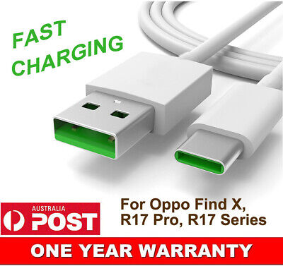 AU5.99 • Buy Short Fast Charging USB Type-C Charger Adapter Cable For OPPO Samsung Huawei HTC