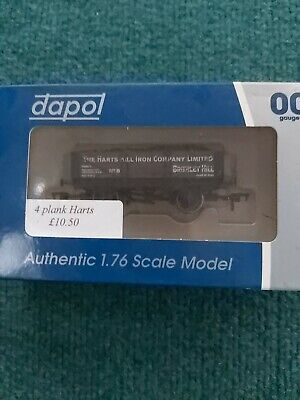 £8.99 • Buy New DAPOL B882 HARTS HILL IRON CO BRIERLEY HILL 4 PLANK WAGON 8 MINT BOXED