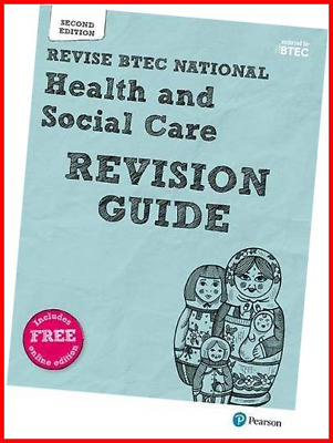 £13.83 • Buy BTEC National Health And Social Care Revision Guide: Second Edition REVISE BTEC