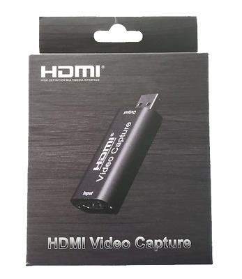 HDMI To USB Video Capture Card 1080P HD Recorder Game/Video Live Streaming. 0203 • 13.57£