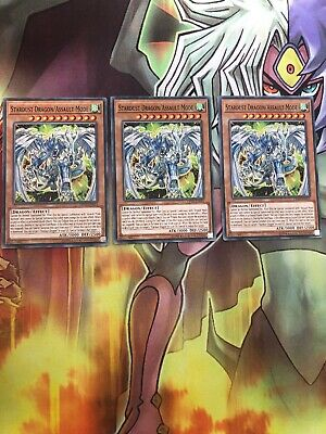 Yugioh 3x Stardust Dragon/Assault Mode OP10-EN015 Common  • 4.30£