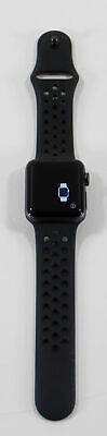 $ CDN217.71 • Buy Apple Watch Series 2 Nike+ 38 Mm Space Gray Aluminum With Black Band+ WARRANTY!