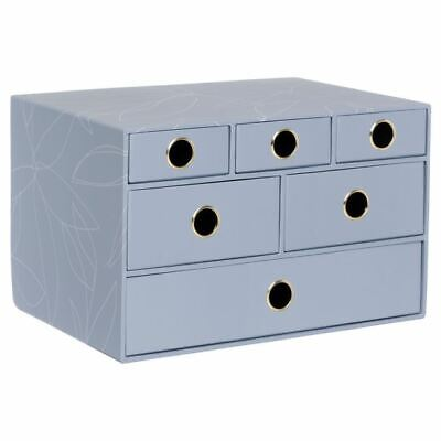£17.50 • Buy Casa Multi Drawer Storage Unit Sturdy Board Design With Inner Paper Linings