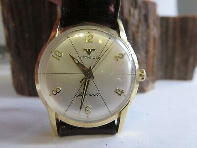 $ CDN204.10 • Buy Vintage Wittnauer 10K Gold Filled Bezel Automatic Watch WORKING E2