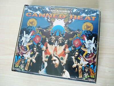 Canned Heat Uncanned The Best Of 2 X CD Fat Box EMI USA 1994 VG • 9.99£