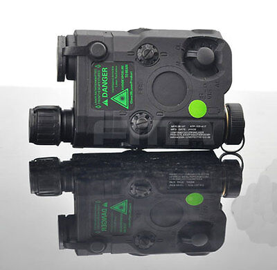 FMA PEQ15 Upgrade Version LED White Light+Green Laser With IR Lenses BK TA0068BK • 69.99£