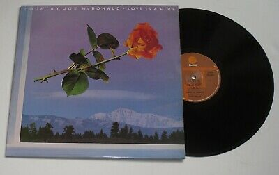NM:COUNTRY JOE McDONALD / LOVE IS A FIRE - LP  • 2.99£